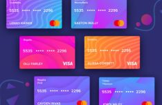 Credit Card Kit For Adobe XD