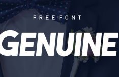 GENUINE Typeface