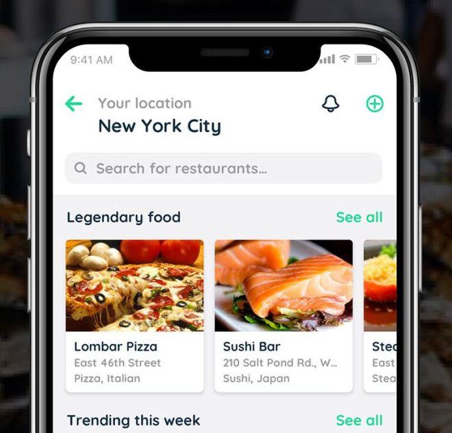 Capi Restaurant & Food Mobile UI Kit (PSD+Sketch)