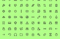 120 Glyph & Stroke Icons (AI+SVG)