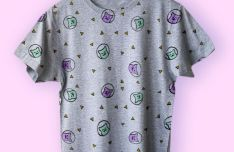 Realistic Hanging T-shirt PSD Mockup
