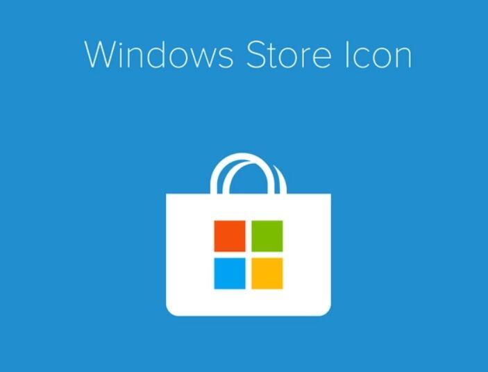 Free Windows Store Icon For App Download Button - TitanUI