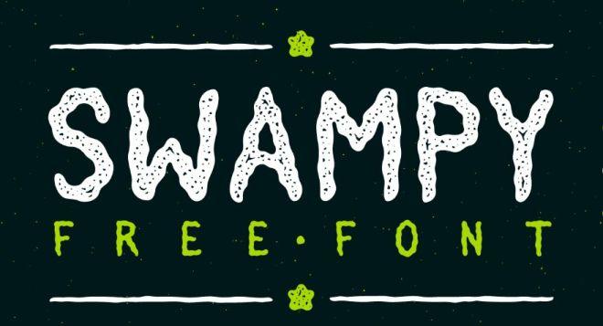 SWAMPY Font