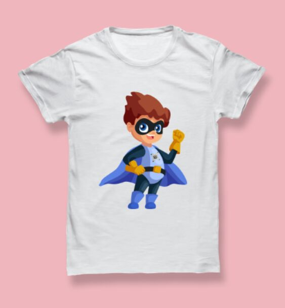 Realistic Men's T-shirt PSD Mockup