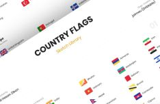 Country Flags Of The World Sketch