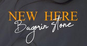 Bagorin Stone Modern Handwriting Font