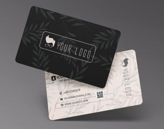 Gorgeous Realistic Business Card PSD Mockup