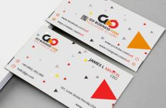 Modern Business Card Template For Branding