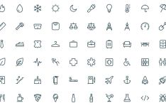 350 Pixel Perfect UI Icons (AI & SVG)