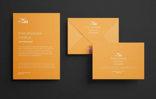 Realistic Envelope PSD Mockup