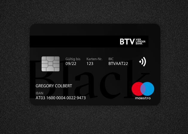 Dark Debit Card Template Sketch