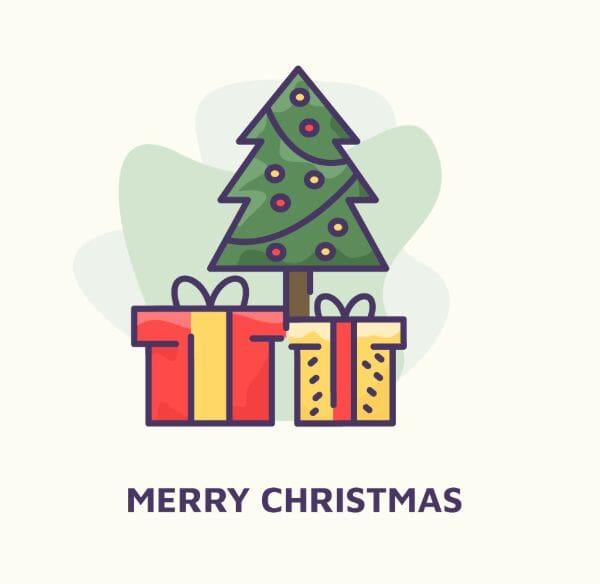 Sweet Christmas Illustration Vector (AI)