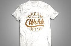Realistic Light Women T-shirt Mockups PSD