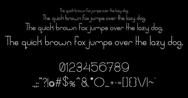 Optomita Display Font