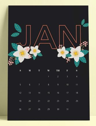 Printable 2020 Calendar PDF