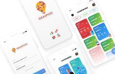 Clean App Design For Educational Mobile App
