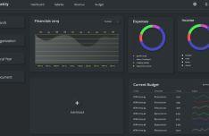 Dark Neomorphic UI Kit (Adobe XD)