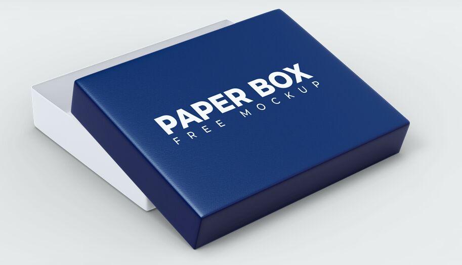 Download Free Elegant Paper Box PSD Mockups (7 Views) - TitanUI