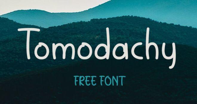 Tomodachy Cute Font