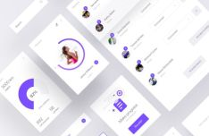 Free Mobile UI Kits for modern mobile app design