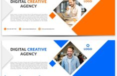 Agency Facebook Cover Photo Template PSD