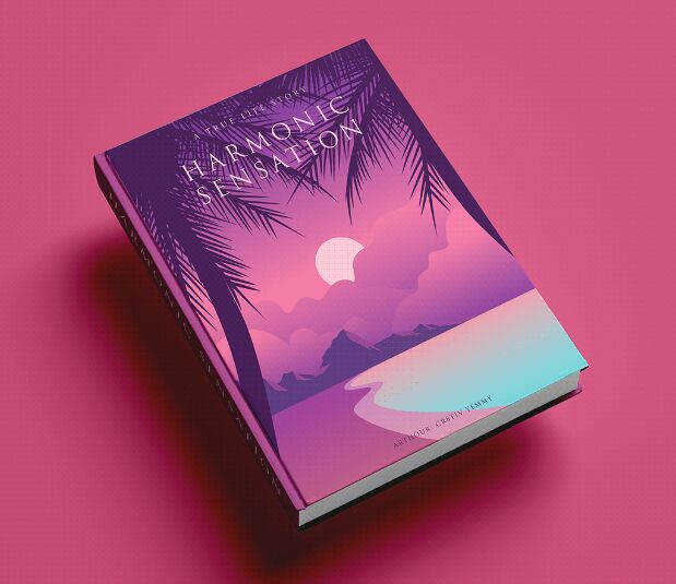 5 Hard Book Cover Mockups PSD