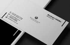 Elegant Business Card PSD Vector Template