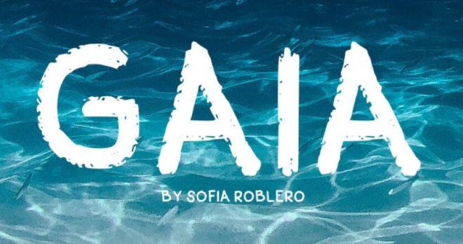 Gaia Handwriting Font