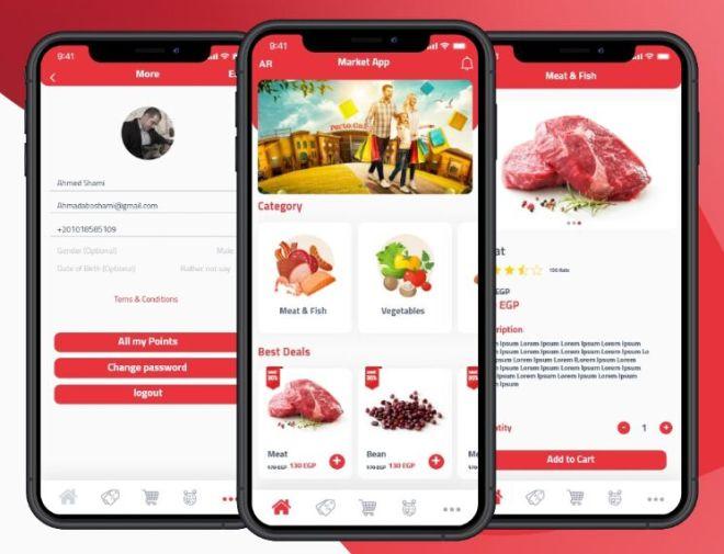 E-Commerce Mobile App UI Kit For Adobe XD