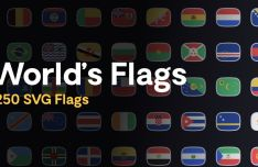 250 Country Flags Of The World (Figma)