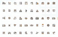 50 Services Icons For Adobe XD