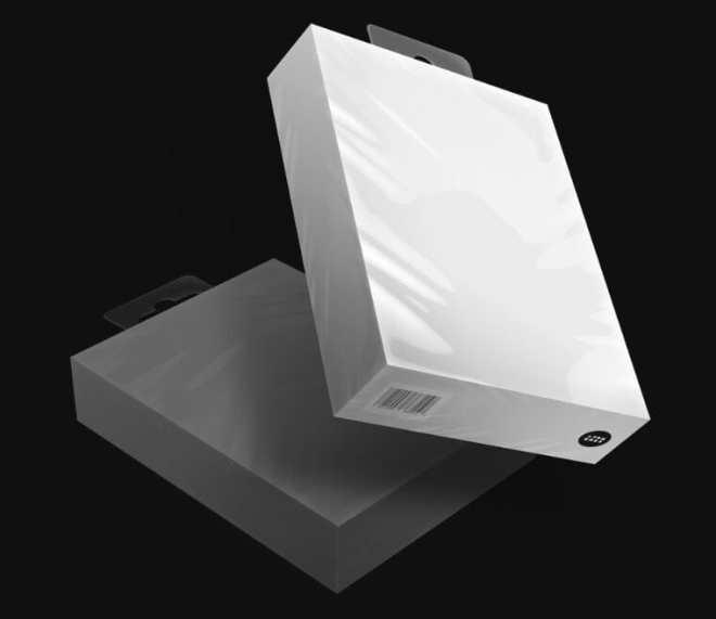 4K Packaging PSD Mockup