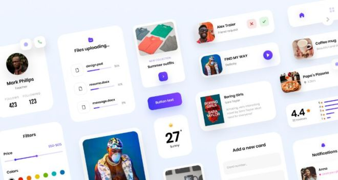 Multipurpose Mobile UI Kit For Figma, Sketch, And XD