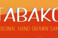 TABAKO Handdrawn Font