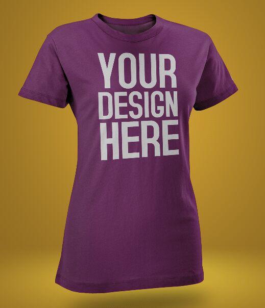 2 T-shirt PSD Mockups