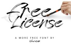 Paintbrush Font