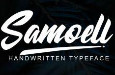 Samoell Handwritten Script Font