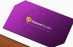 Premium Business Card PSD Mockup