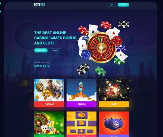 Casino Games Landing Page Template For Adobe XD