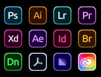 Adobe Creative Cloud Big Sur Icons