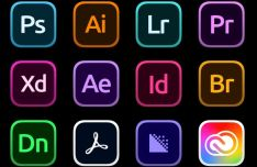 Adobe Creative Cloud Big Sur Icons