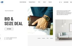 eCommerce Store Web Template For Adobe XD