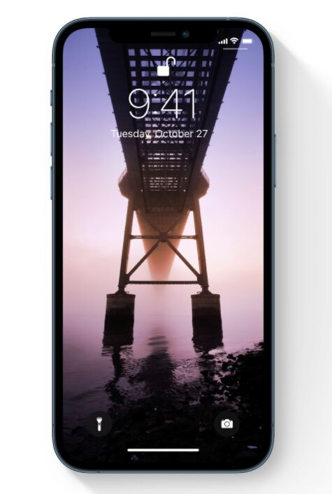 iPhone 12 Pro With Shadow Sketch Mockup