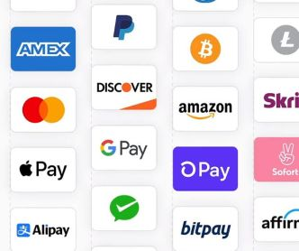 Payment Methods Icon Set For Checkout Form