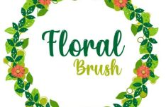 Floral Vector Brush