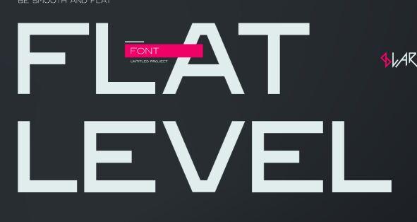Flat Level Icon
