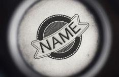Vintage Logo Label PSD Mockup