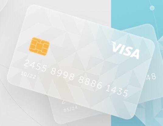 Glassmorphism Bank Card Figma Template