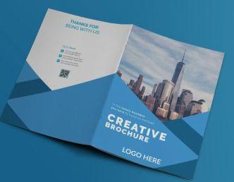 Business Brochure Booklet PSD Mockup
