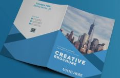 Business Brochure Booklet PSD Mockup